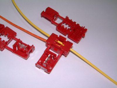 【送料無料】日圧製エレクトロタップ・配線分岐コネクタ100個入り